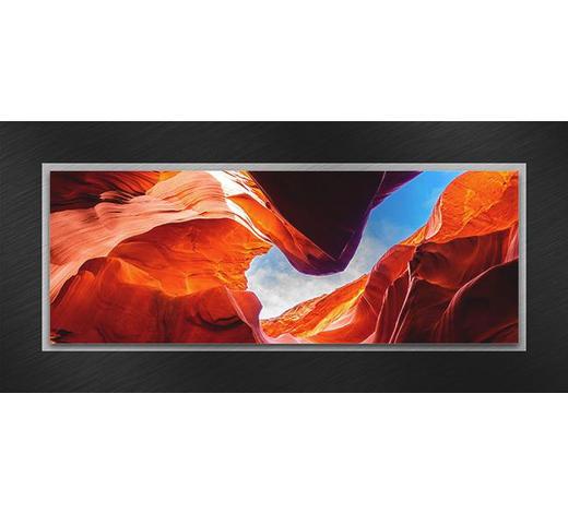 GLASBILD - Multicolor, Natur, Glas/Metall (50/125/3,50cm)