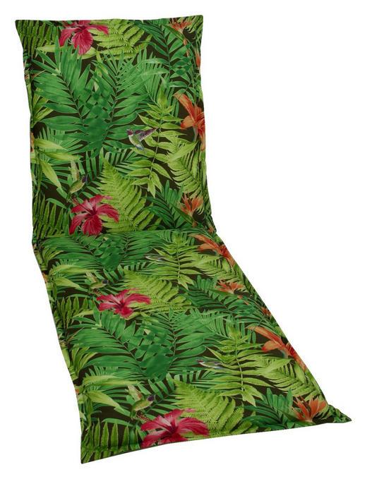 LIEGENAUFLAGE Floral - Grün, Design, Textil (60/8/190cm)