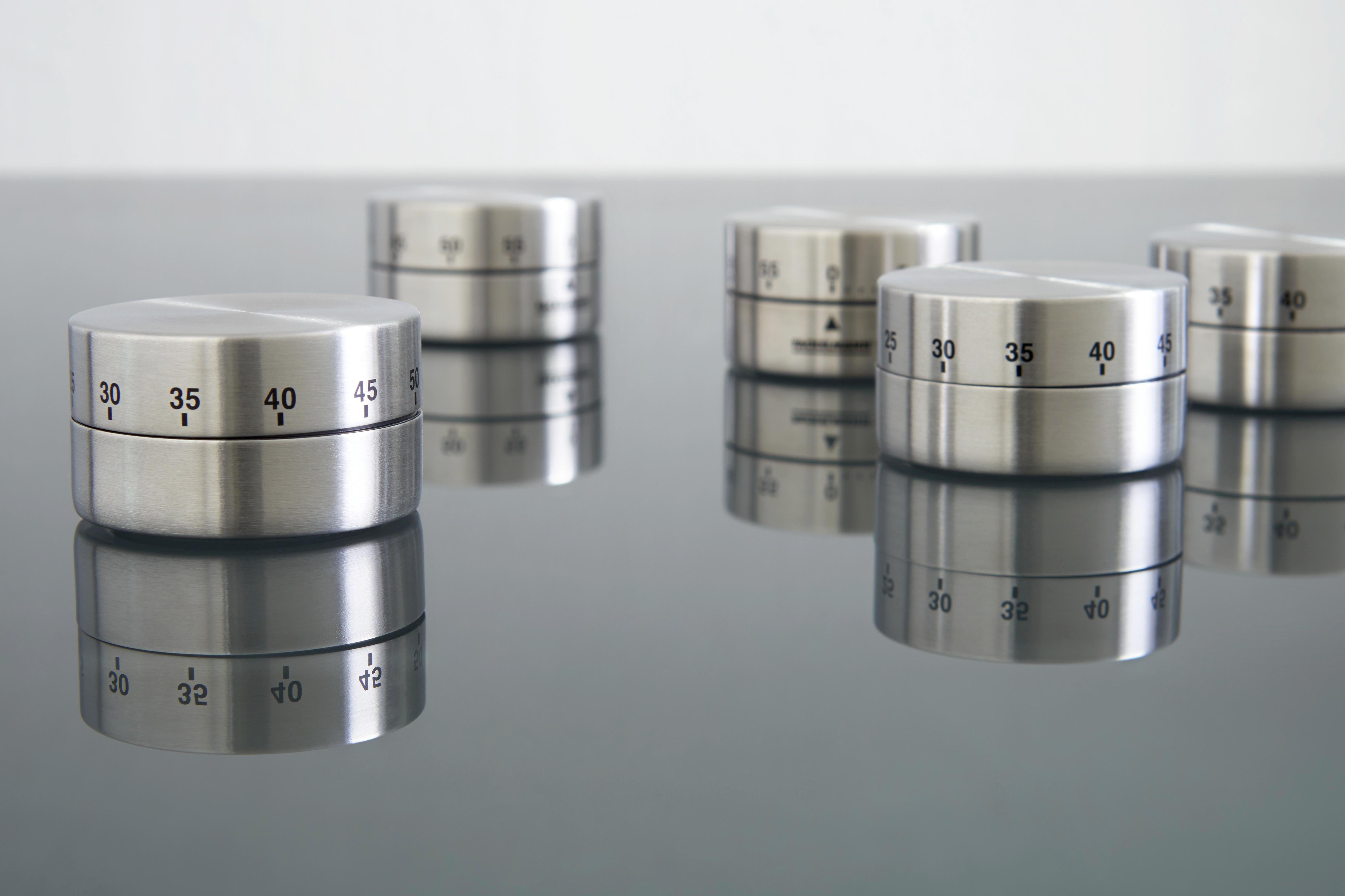 MJERAČ KRATKOG VREMENA - boje srebra, Konvencionalno, metal (1cm) - HOMEWARE