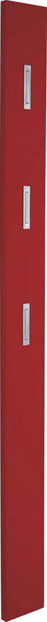 GARDEROBENPANEEL Hochglanz Rot - Rot, Design (15/170/4cm) - Xora