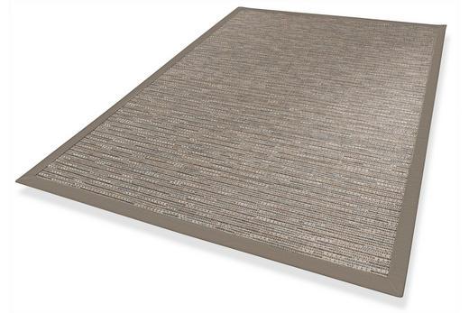 FLACHWEBETEPPICH IN-/ OUTDOOR  133/190 cm  Grau - Grau, Basics, Textil (133/190cm) - Novel
