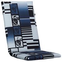 SESSELAUFLAGE - Blau/Hellgrau, KONVENTIONELL, Textil (50/123/4cm) - Kettler HKS