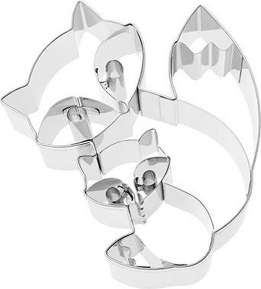 KEKSAUSSTECHFORM - Edelstahlfarben, Basics, Metall (9,1/2,5/10cm) - Birkmann