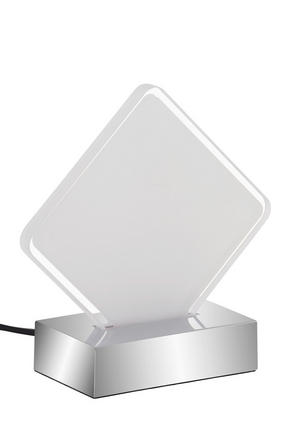 LED BORDSLAMPA - kromfärg, Design, plast (15/6/15cm) - Boxxx