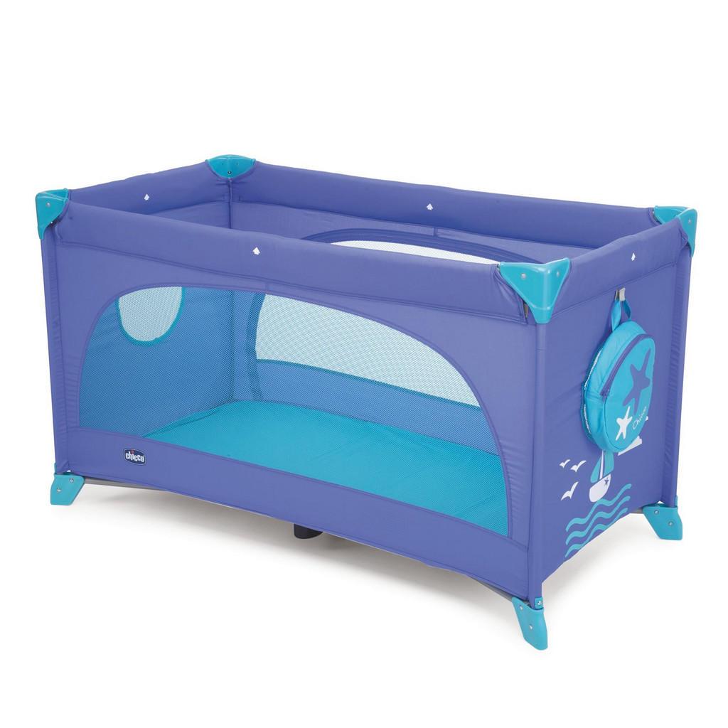Blaues Reisebett von Chicco