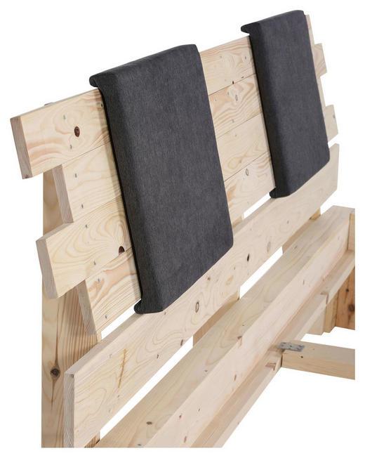 KOPFTEIL 200/98/13 cm  Naturfarben - Naturfarben, Trend, Holz (200/98/13cm) - Carryhome