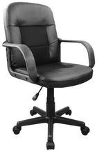 VRTLJIVI STOL kovina, les, tekstil, umetna masa črna - črna, Design, kovina/umetna masa (60/89-96/62cm) - Boxxx