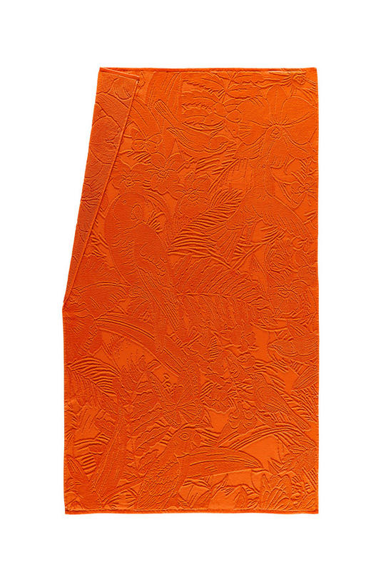 STRANDTUCH 100/175 cm - Orange, Design, Textil (100/175cm) - Esposa