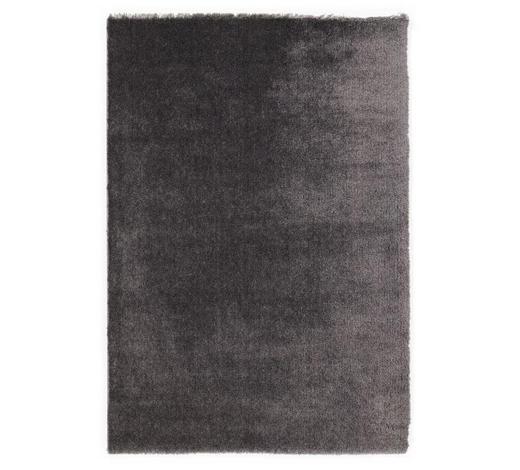 HOCHFLORTEPPICH  200/290 cm  gewebt  Anthrazit   - Anthrazit, Basics, Textil (200/290cm) - Novel