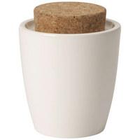 ZUCKERDOSE Keramik  - Creme/Braun, Basics, Keramik (0,3l) - Villeroy & Boch