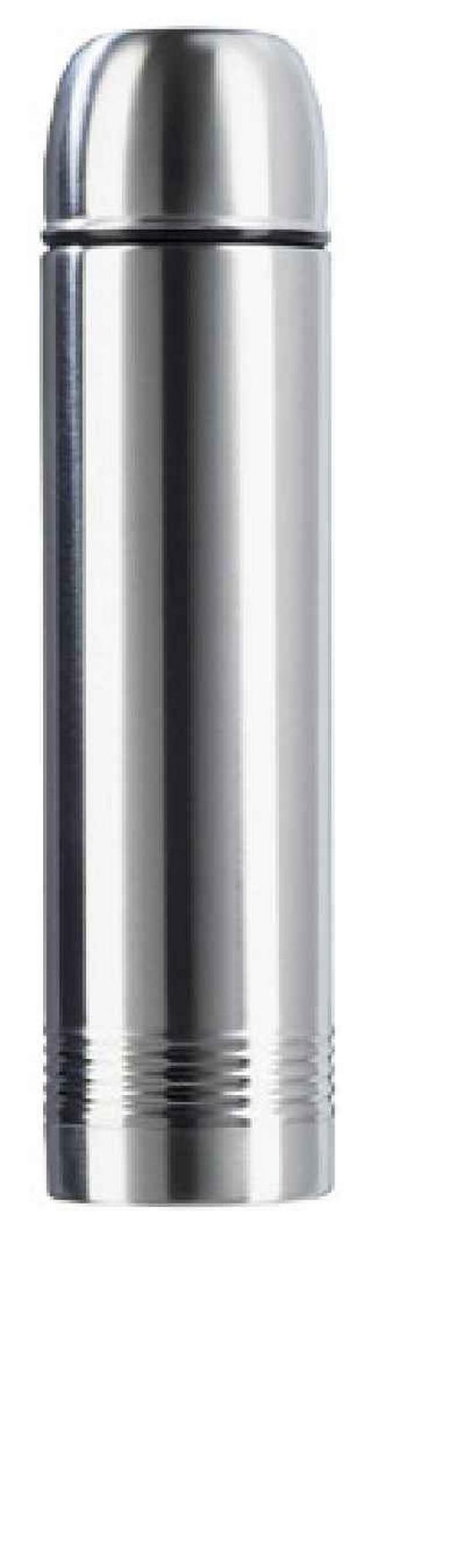 ISOLIERFLASCHE 0,7 L - Edelstahlfarben, Basics, Metall (7,5/7,5/30cm) - Emsa