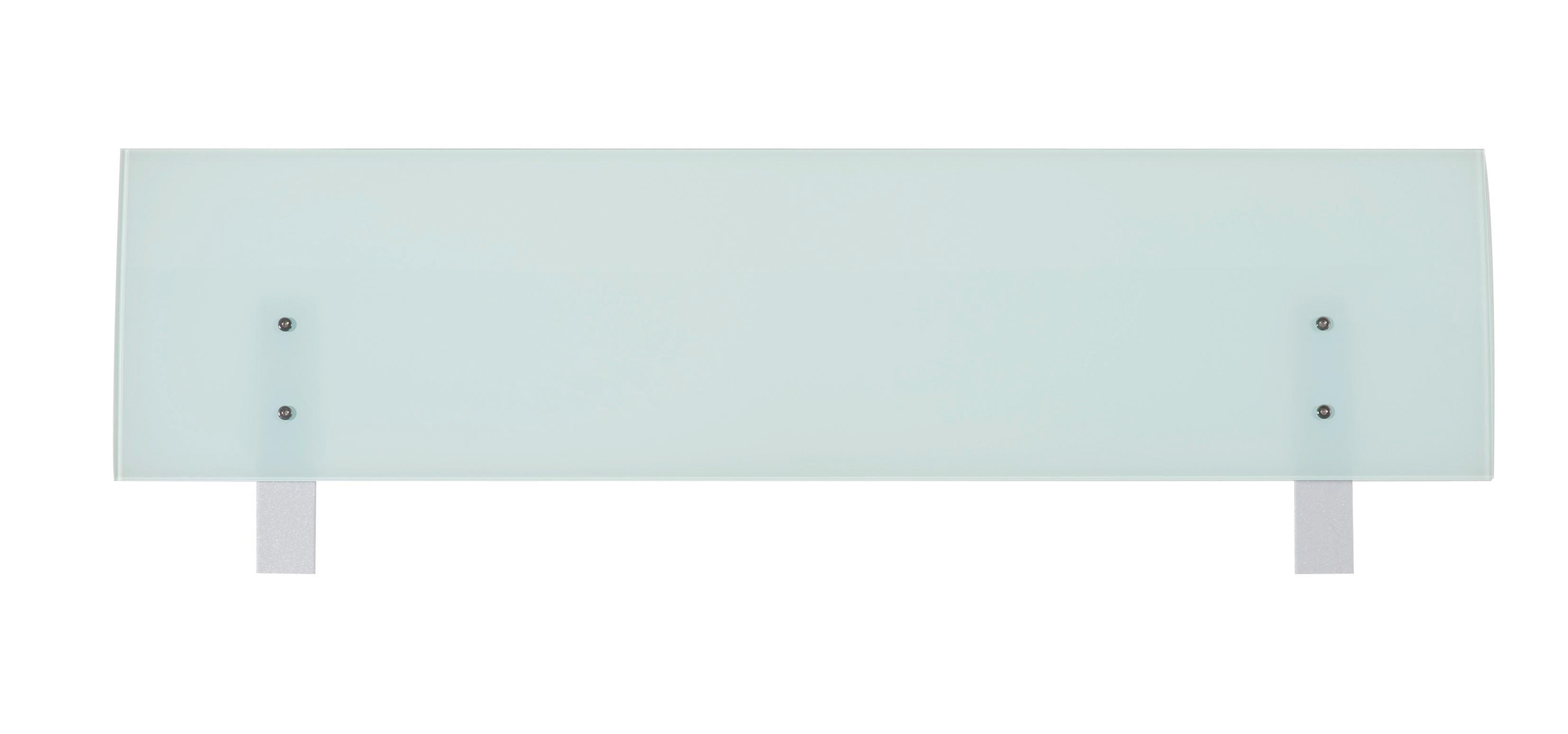 KOPFTEIL  141/48 cm - MODERN, Glas (141/48cm) - XORA