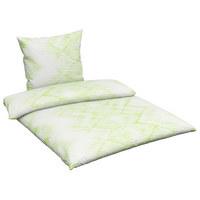 BETTWÄSCHE Seersucker Grün 155/220 cm  - Grün, Trend, Textil (155/220cm) - Esposa