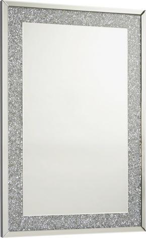 SPEGEL - silver, Design, glas/träbaserade material (80/120/4cm) - Xora