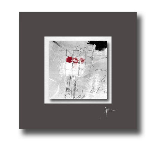 UNIKAT AUF ALUPASSEPARTOUT Strukturen  - Multicolor, Design (50/50cm) - Wiedemann