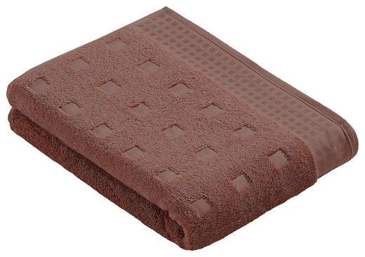 DUSCHTUCH 67/140 cm - Ahornfarben, Basics, Textil (67/140cm) - VOSSEN