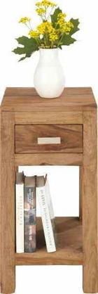 ODKLÁDACÍ STOLEK - barvy sheesham, Lifestyle, dřevo (30/60/30cm) - LANDSCAPE