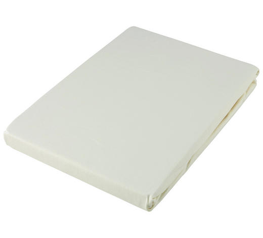 SPANNLEINTUCH 90/190 cm  - Creme, Basics, Textil (90/190cm) - Fussenegger