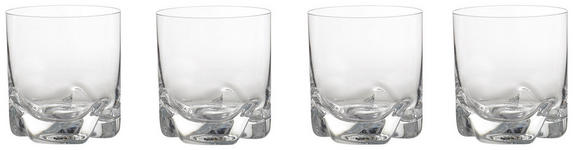 GLÄSERSET 4-teilig - Basics, Glas (0,28l) - Novel