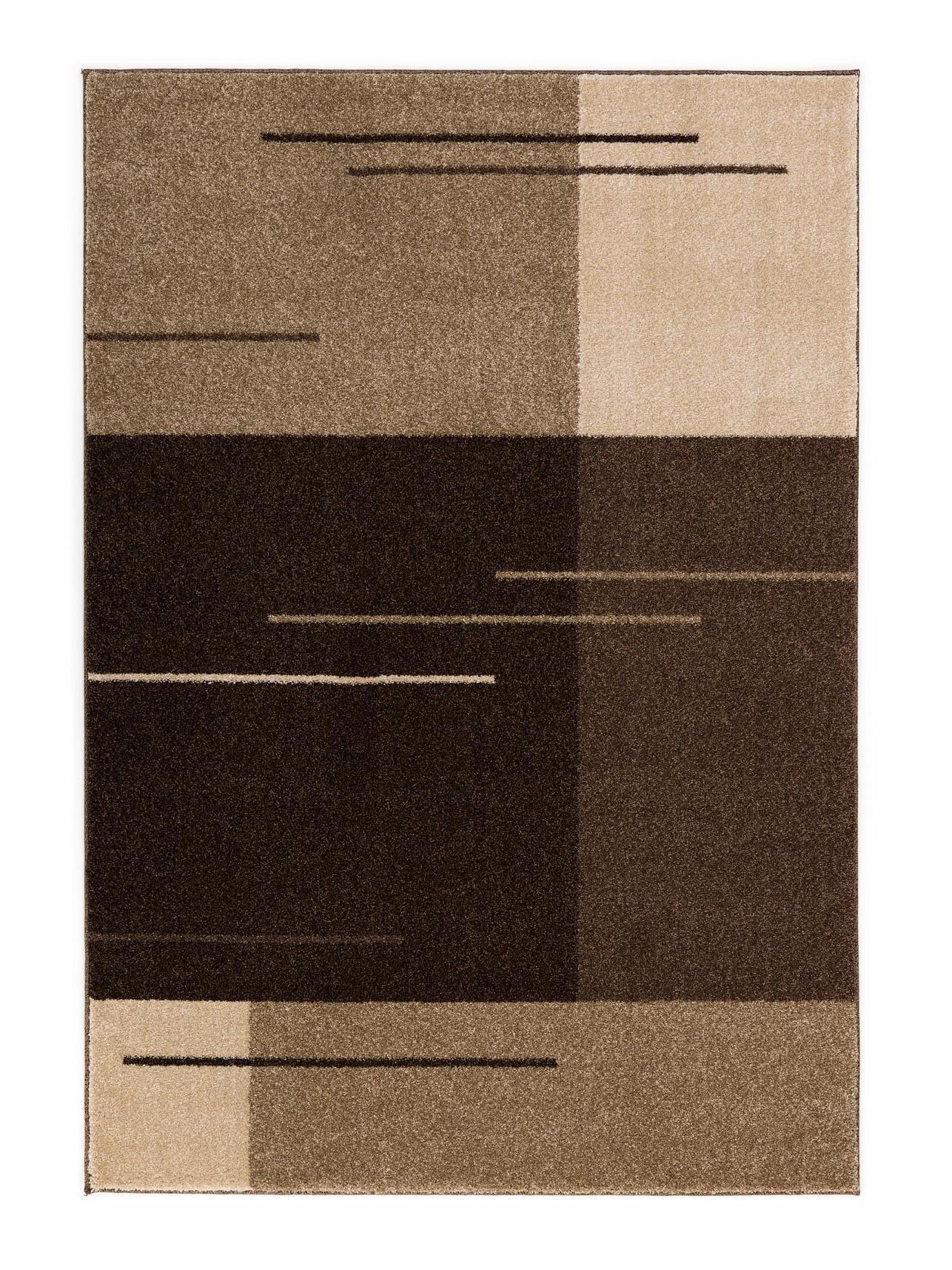 TKANA PREPROGA SAMOA, RJAVA - rjava, Design, tekstil (130/67cm) - BOXXX