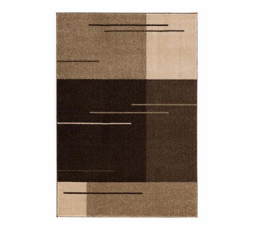 TKANI TEPIH SAMOA 67X130CM  smeđa     - smeđa, Design, tekstil (67/130cm) - Esposa