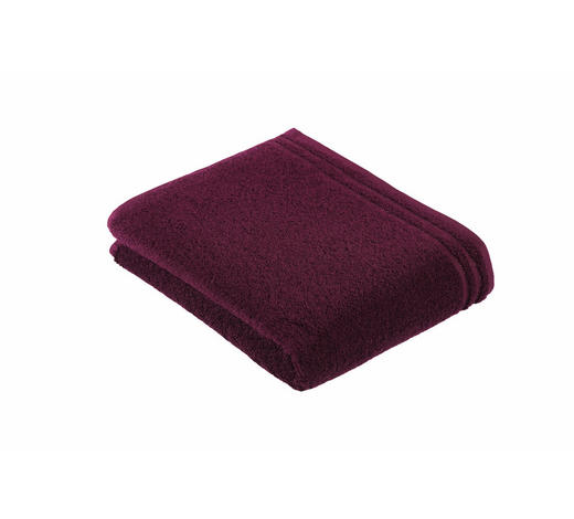 DUSCHTUCH 67/140 cm  - Beere, Basics, Textil (67/140cm) - Vossen