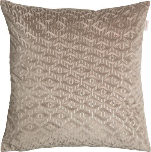 KISSENHÜLLE Beige, Creme 45/45 cm - Beige/Creme, Textil (45/45cm) - Esprit