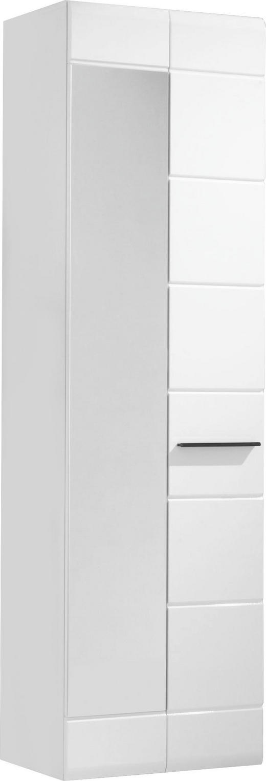 ORMAR GARDEROBNI - bijela, Design, staklo/drvni materijal (60/198/35cm) - XORA