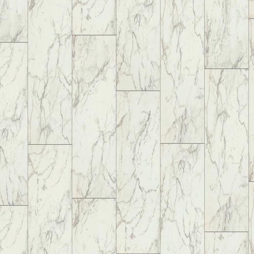 LAMINATBODEN Hellgrau, Weiß  per  m² - Hellgrau/Weiß, Design, Holzwerkstoff (31/0,8/64,4cm) - Venda
