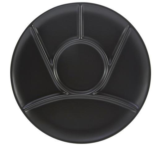 FONDUETELLER 25 cm - Schwarz, Basics, Keramik (25cm) - Homeware