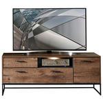 TV-ELEMENT 156/62/48 cm  - Eichefarben/Anthrazit, MODERN, Holzwerkstoff/Metall (156/62/48cm) - Hom`in