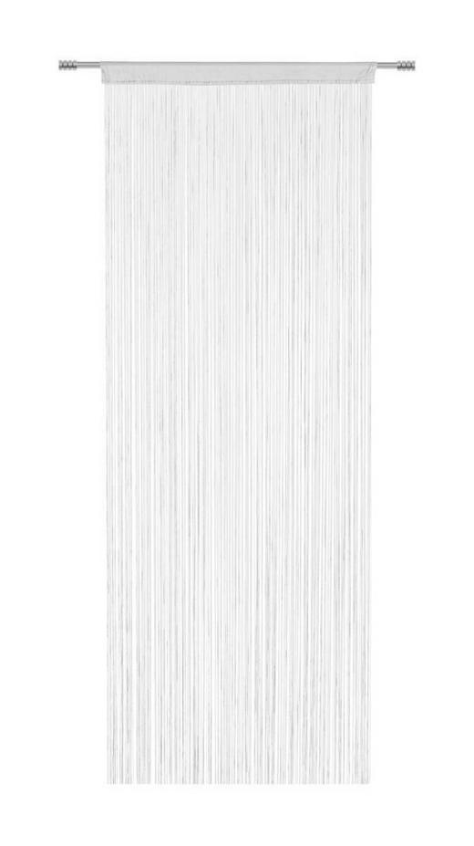 FADENSTORE transparent - Weiß, Basics, Textil (90/245cm) - Boxxx