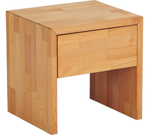 NOČNÍ STOLEK, buk, barvy buku - barvy buku, Design, dřevo (39/39/35cm) - Carryhome