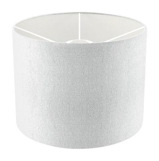 LEUCHTENSCHIRM  Weiß  Textil - Weiß, Design, Textil (25cm) - Joop!