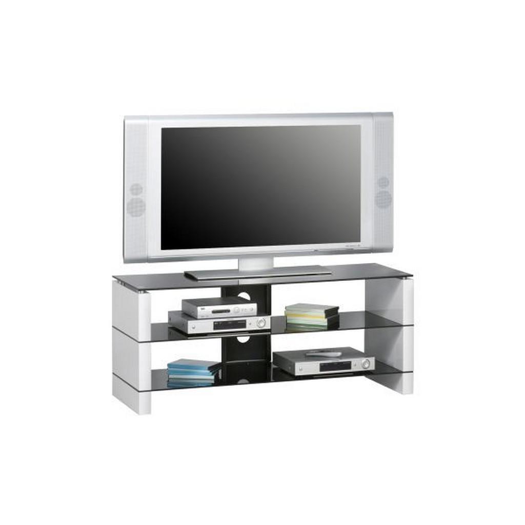 Tv-Rack In Schwarz, Weiß