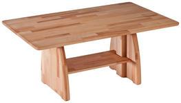 COUCHTISCH in Holz 105/65/47-66 cm - Eichefarben, Design, Holz (105/65/47-66cm) - Linea Natura