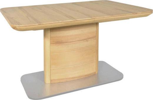 ESSTISCH Kernbuche massiv rechteckig Buchefarben - Buchefarben, Design, Holz (130(175)/90/75cm) - Moderano