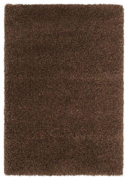 HOCHFLORTEPPICH  80/200 cm  gewebt  Braun - Braun, Basics, Textil (80/200cm) - Novel