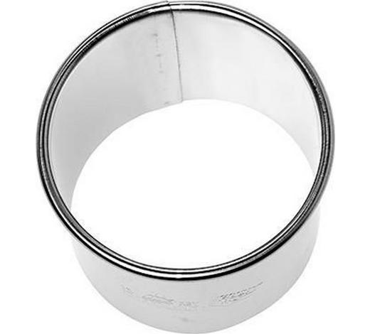 KEKSAUSSTECHFORM - Edelstahlfarben, Basics, Metall (5cm)