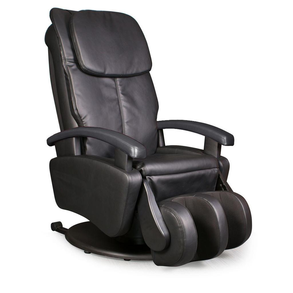 Cantus MASSAGESESSEL Kombination Echtleder/Stoff Schwarz | Wohnzimmer > Sessel > Massagesessel | Textil | Cantus