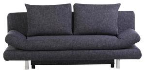 SCHLAFSOFA Flachgewebe Blau  - Blau/Chromfarben, KONVENTIONELL, Textil (194/73/91cm) - Xora
