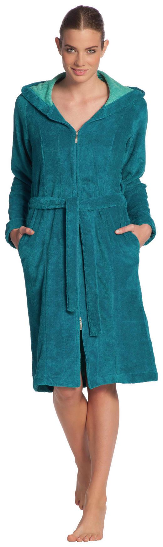 BADEMANTEL XL - Türkis, Basics, Textil (XL null) - Vossen