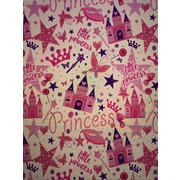 DJEČJI TEPIH - roza/višebojno, Basics, tekstil (120/160cm)
