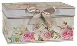 AUFBEWAHRUNGSBOX 23/16/12 cm  - Multicolor/Naturfarben, Basics, Karton/Papier (23/16/12cm) - Boxxx