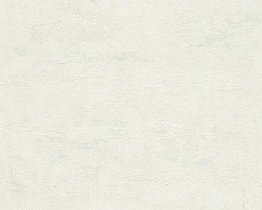 VLIESTAPETE 10,05 m - Blau/Creme, Basics, Textil (53/1005cm)