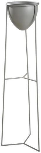 KVĚTINÁČ - šedá, Design, kov (28,5/100/27,5cm) - Ambia Home