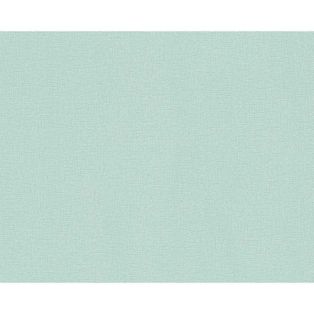 Vliestapete in Mintgrün
