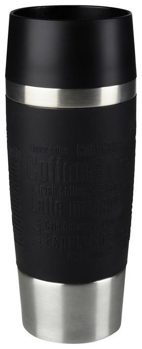 COFFEE-TO-GO-MUGG - svart, Design, metall/plast (0,36l) - Tefal