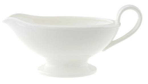 SAUCIERE Keramik Bone China - Weiß, Basics, Keramik (0,45l) - Villeroy & Boch