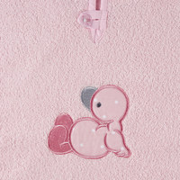 PONČO RAČKA - roza/bela, Basics, tekstil (65/50cm) - My Baby Lou